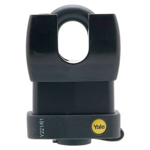 Picture of Yale 221-61 Steel Padlock 30mm Shackle