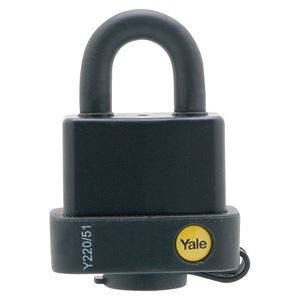 Picture of Yale 220-51 Steel Padlock 18mm Shackle