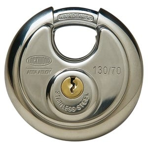Picture of Lockwood 130 Cylindrical 70mm Padlock 20mm Shackle