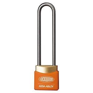 Picture of Lockwood 312EL50/OR Brass 30mm Padlock 50mm Shackle Orange Cover