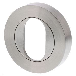 Picture of Sabre R53 Oval Cylinder Escutcheon SSS