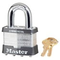 Picture of Masterlock 0025K Rekeyable Laminated Steel Padlock 51mm wide body