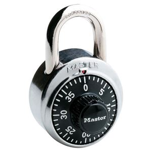 Picture of Masterlock 1500DAU Combination Dial 48mm Double Armour Stainless Steel Body