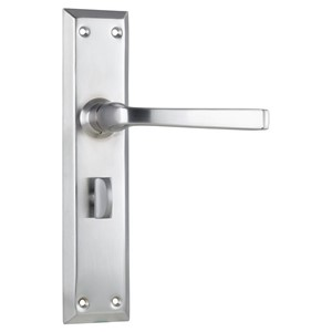 Picture of Tradco 0687P Menton Lever Privacy SC
