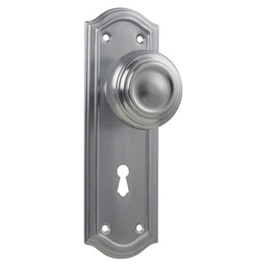 Picture of Tradco 0873 Kensington Knob Lock FG 175x58mm CP