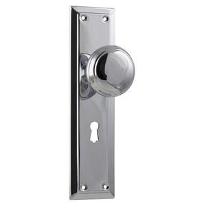 Picture of Tradco 0882 Richmond Knob Lock SB 200x50mm CP