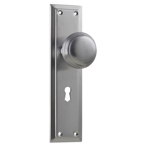 Picture of Tradco 0885 Richmond Knob Lock SB 200x50mm SC