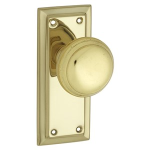 Picture of Tradco 0980 Richmond Knob Latch FG 125x50mm PB