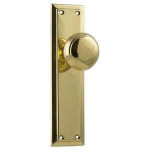 Picture of Tradco 0981 Richmond Knob Latch SB 200x50mm PB