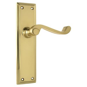 Picture of Tradco 1004 Milton Lever Latch 200x50mm PB