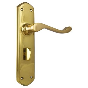 Picture of Tradco 1042P Windsor Lever Privacy 200x45mm PB
