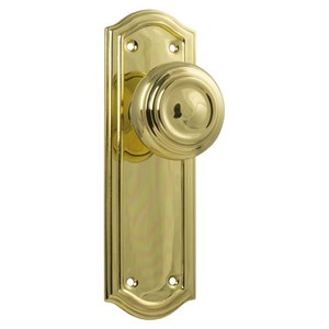 Picture of Tradco 1072 Kensington Knob Latch 175x58mm PB
