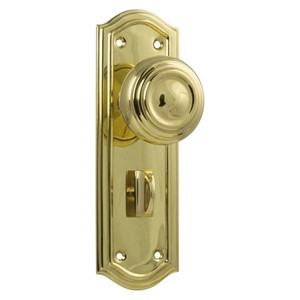 Picture of Tradco 1072P Kensington Knob Privacy 175x58mm PB