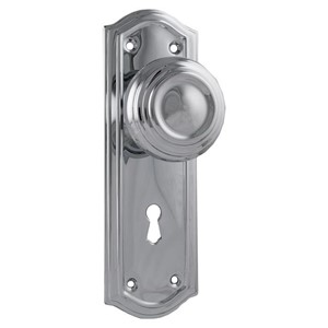 Picture of Tradco 1093 Henley Lever Latch FG 180x50mm SC