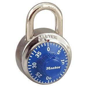 Picture of Masterlock 1502C Combination Dial Coloured 48mm Wide Body Padlock