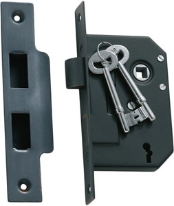 Picture of Tradco 1140 3 Lever Mortice Lock 63-B44mm AC