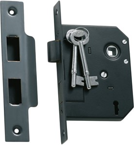 Picture of Tradco 1141 3 Lever Mortice Lock 76-B57mm AC