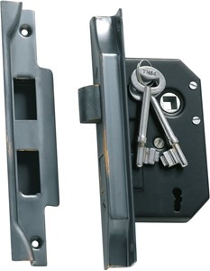 Picture of Tradco 1148 3 Lever Rebated Lock 63-B44mm AC