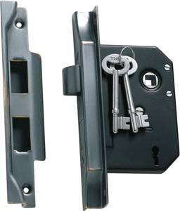 Picture of Tradco 1149 3 Lever Rebated Lock 76-B57mm AC