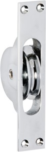 Picture of Tradco 1682 Sash Pulley 25x125mm CP