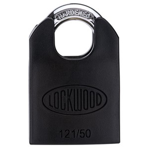 Picture of Lockwood 121 Brass 50mm Padlock 32mm Shackle