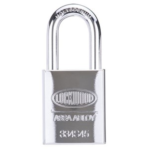 Picture of Lockwood 334 Solid Steel Case 45mm Padlock 38mm CM Shackle 5P KD