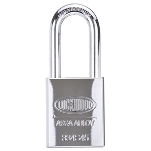 Picture of Lockwood 334 Solid Steel Case 45mm Padlock 48mm CM Shackle 5P KD