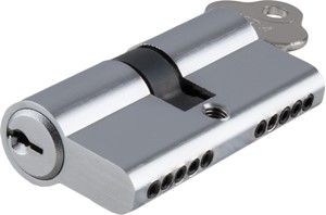 Picture of Tradco 2047 Euro Cyl Key/Key 5 Pin 60mm CP