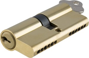 Picture of Tradco 2071 Euro Cyl Key/Key 6 Pin 70mm PB