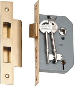 Picture of Tradco 2142 5 Lever Lock 46mm PB
