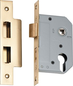 Picture of Tradco 2144 Euro Lock 46mm PB
