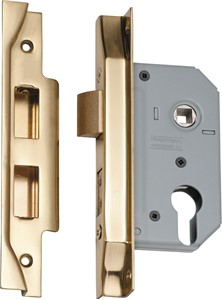 Picture of Tradco 2148 Rebated Euro Lock 46mm PB