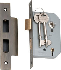 Picture of Tradco 2150 5 Lever Lock 46mm AB