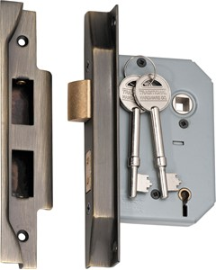 Picture of Tradco 2155 Rebated 5 Lever Lock 57mm AB