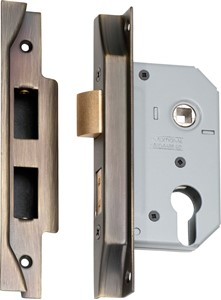Picture of Tradco 2156 Rebated Euro Lock 46mm AB