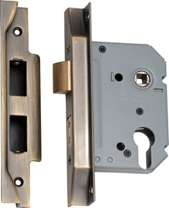 Picture of Tradco 2157 Rebated Euro Lock 57mm AB