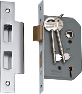 Picture of Tradco 2166 5 Lever Lock 46mm CP
