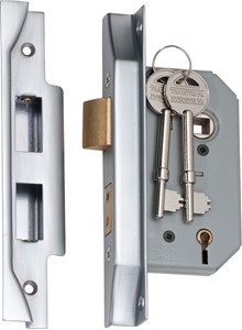 Picture of Tradco 2178 Rebated 5 Lever Lock 46mm SC