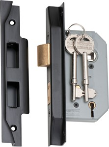 Picture of Tradco 2186 Rebated 5 Lever Lock 46mm MB