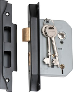 Picture of Tradco 2187 Rebated 5 Lever Lock 57mm MB