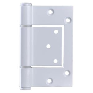 Picture of McCallum A155 Heavy Duty Aluminium Interfold Hinge WHT