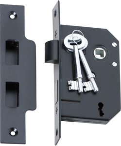 Picture of Tradco 2260 3 Lever Mortice Lock 63-B44mm MB