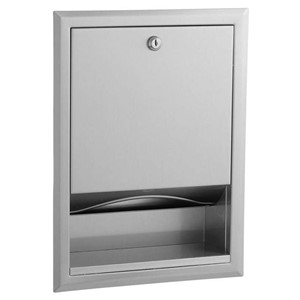 Picture of Bobrick B359 Classic Recessed Paper Towel Dispenser