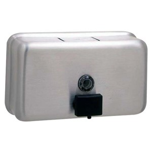 Picture of Bobrick B2112 Classic Surface Mounted Soap Dispenser
