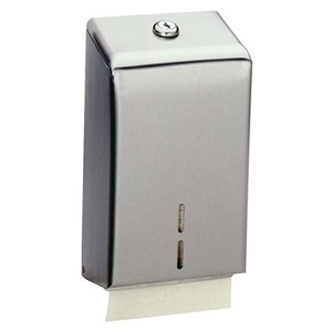 Picture of Bobrick B272 Contura Surface Mounted Toilet Tissue Cabinet