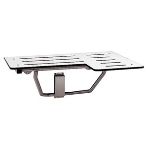 Picture of Bobrick B5181 Surface Mounted Reversible Folding Shower Seat