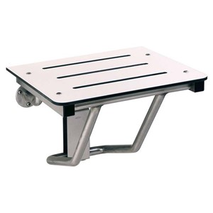 Picture of Bobrick B5191 Surface Mounted Folding Shower Seat