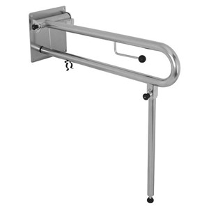 Picture of RBA 4007-113 Drop Down Rail for Bariatric with Toilet Roll Holder LH