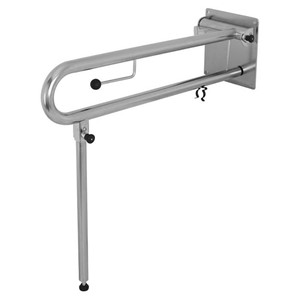 Picture of RBA 4007-115 Drop Down Rail for Bariatric with Toilet Roll Holder RH