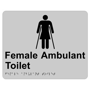 Picture of RBA 4330-023 Tactile Sign Female Ambulant SS